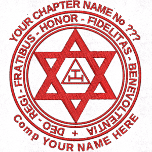 Generic Triple Tau Holy Royal Arch Chapter Embroidered Masonic